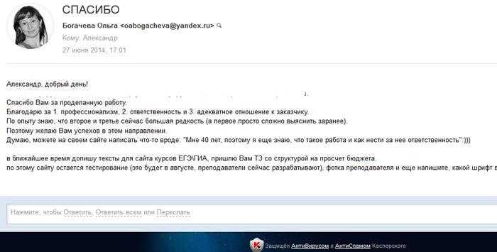 отзывы об Александре Щапове